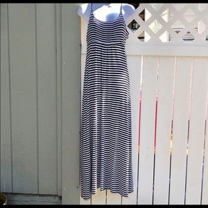 Calvin Klein Dresses - Calvin Klein Striped Maxi Dress B11
